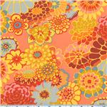 BJ-734 Kaffe Fassett Asian Circles Orange