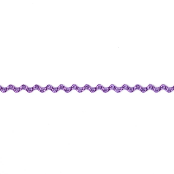 "1/8"" Ric Rac Rayon Mini Trim Purple"