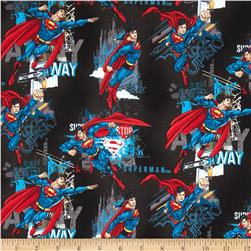 Superman Allover Black