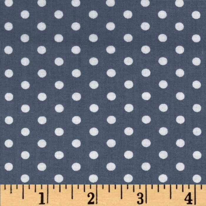 Everything Nice Dots Grey
