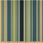 UJ-380 P Kaufmann Indoor/Outdoor Deck Chair Stripe Navy