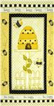 0273437 Bee Happy Panel Yellow/Black
