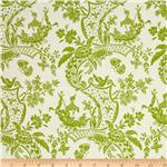 0268794 Chinoiserie Toile Green