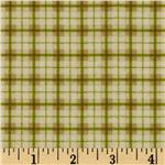 FV-003 Riley Blake Elk Ridge Flannel Plaid Tan