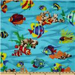 Clown Fish Blue