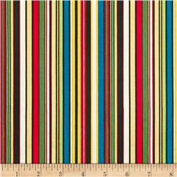12 Days Of Christmas Stripe Red/Green