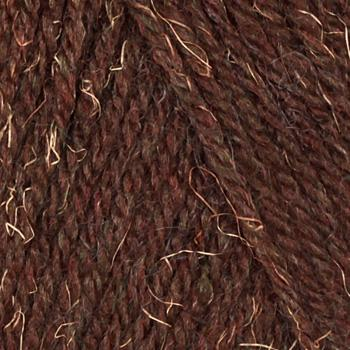 Lion Brand Wool-Ease Yarn (127) Mink Brown