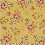Vintage Baby Vintage Floral Yellow