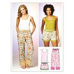 Kwik Sew Misses Sleep Pants, Shorts Top (3882) Pattern