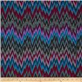 Kaffe Fassett Spring 2013 Collection Flame Stripe Dark Blue/Purple