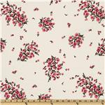 Greenfield Hill Voile Mrs Aster Cranberry