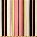 Premier Prints Terrace Stripe Black/Pink