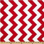 FT-472 Riley Blake Chevron Large Red