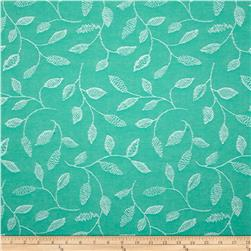 Covington Embroidered Sabrina Isle Waters Green