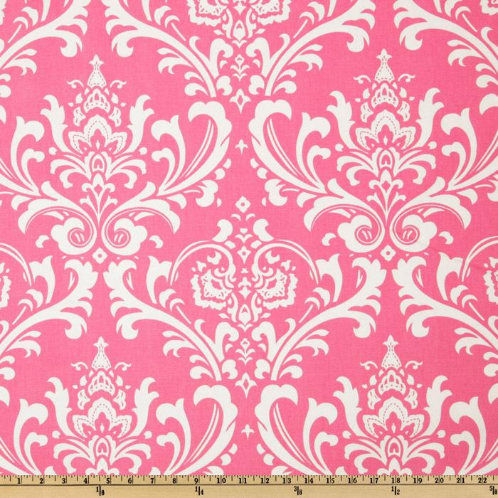 Premier Prints Ozborne Candy Pink/White