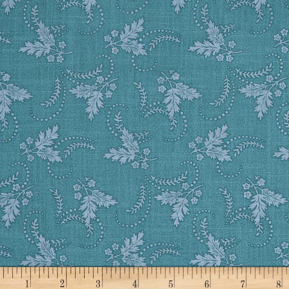 Laurel Cottage Dainty Sprig Pond Blue
