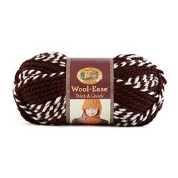 Lion Brand Wool-Ease Think & Quick Yarn Hoosiers