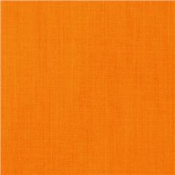 Cotton Blend Broadcloth Tangerine