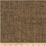 "0293276 48"" Chevron Burlap Natural/Brown"