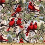 DC-578 WinterFleece Red Bird
