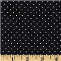 Moda Essential Dots (# 8654-41) Jet Black