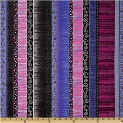 Urban Oasis Oasis Stripe Plum/Blue