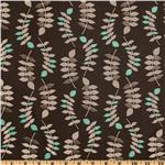 Valori Wells Jenaveve Linen Blend Leaves Steel Gray