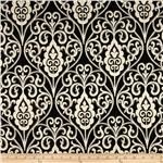 Waverly Williamsburg Bristol Scroll Jacquard Domino