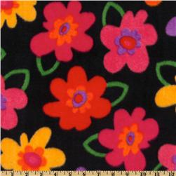 WinterFleece Pop Floral Black