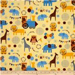 The Circus Animals Vintage Yellow