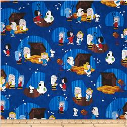 Peanuts Christmas Time Xmas Play Vignettes Royal