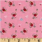 Riley Blake Little Red Riding Hood Little Floral Pink