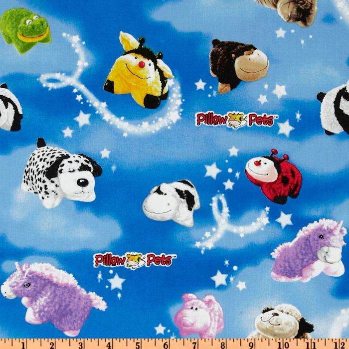 Pillow Pets Night Sky Multi/Blue