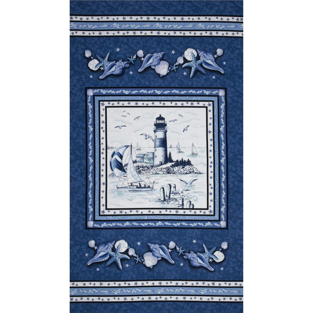 By The Sea Ocean Panel Blue