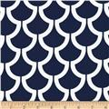 Michael Miller Bekko Home Decor Billow Navy