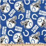 CK-162 NFL Fleece Indianapolis Colts Small Logo Blue