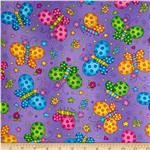 0274740 Fun For Kids Butterflies Purple