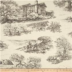 Creations Log Cabin Toile Taupe