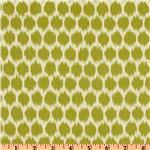 UN-760 Waverly Seeing Spots Sateen Wasabi