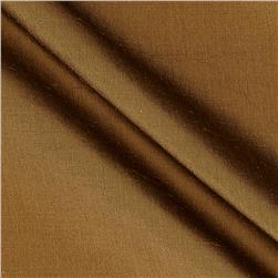 Dupioni Silk Fabric Irridescent Bronze