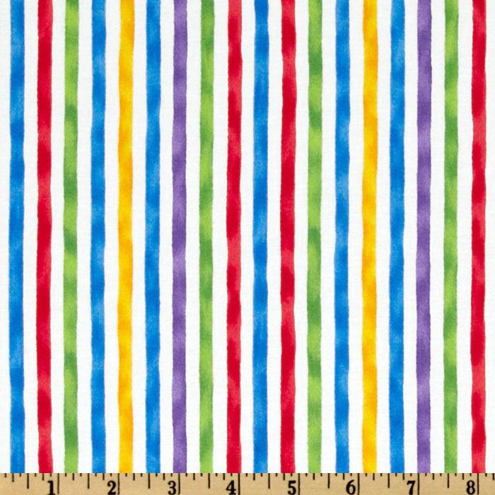 Moda Ocean View Cabana Stripe White/Multi