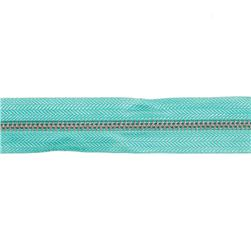 Riley Blake 1 1/4'' Zipper Trim Teal