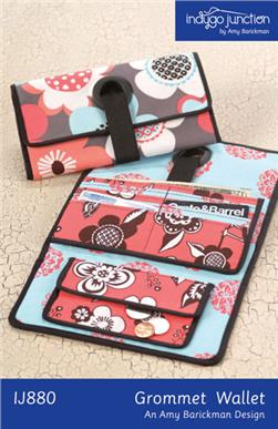 Indygo Junction Grommet Wallet Pattern