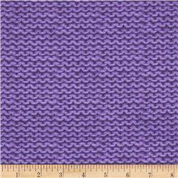 A Closer Look Purl Texture Purple