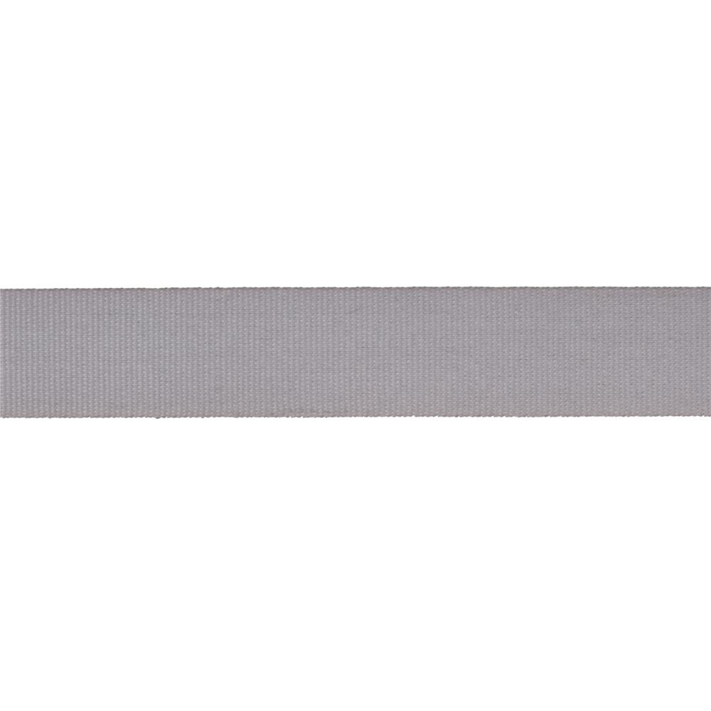 "5/8"" Faux Canvas Ribbon Grey"