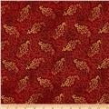 Madeline Dotty Vine Metallic Red/Gold