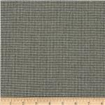 0304019 Kaufman Railroad Deluxe Houndstooth Shirting Indigo