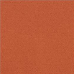 Stretch Cotton Twill Orange