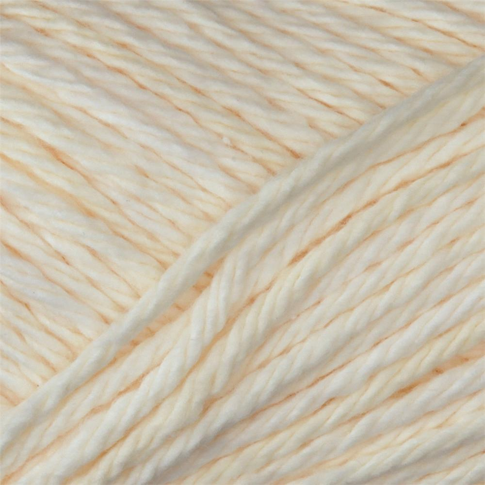Peaches & Creme Solid Yarn (01004) Soft Ecru