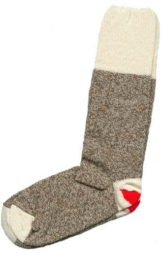 Sock Monkey Kit 2pr Brown Medium